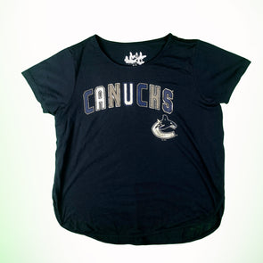 Vancouver Canucks Womens Touch Butterfly T-Shirt