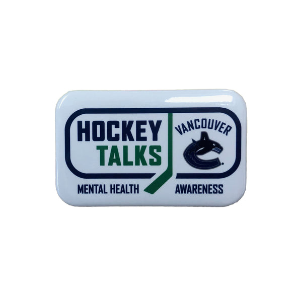 Vancouver Canucks Hockey Talks Button