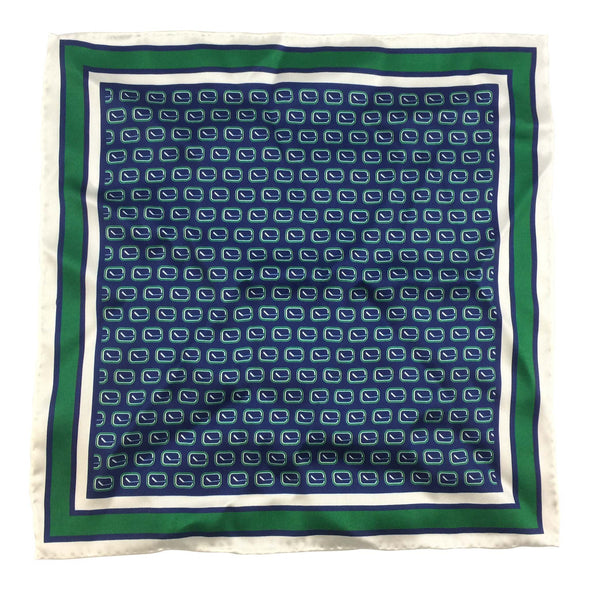 Vancouver Canucks Stick Pocket Square - Vanbase
