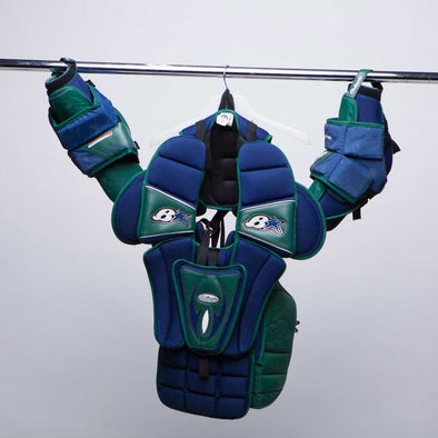 Vancouver Canucks Goalie Chest Protector - Vanbase