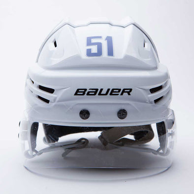 Canucks White Game Worn Helmets - Vanbase