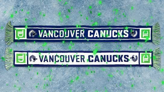 Member Gift: Vancouver Canucks Scarf (Presented by TD) - 2 Units