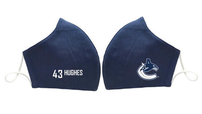 Vancouver Canucks HUGHES 43 Face Mask