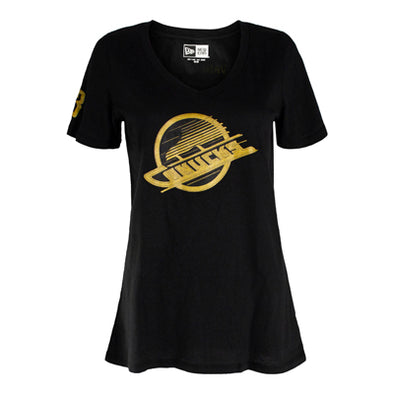 Canucks Ladies New Era PDS Bo Horvat T-Shirt
