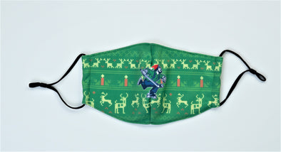 Vancouver Canucks Ugly Holiday Face Mask