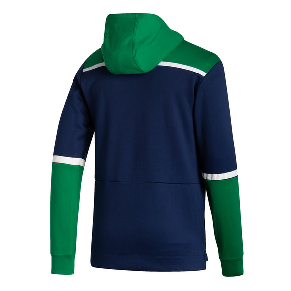Vancouver Canucks Adidas Reverse Retro Pullover Hoodie