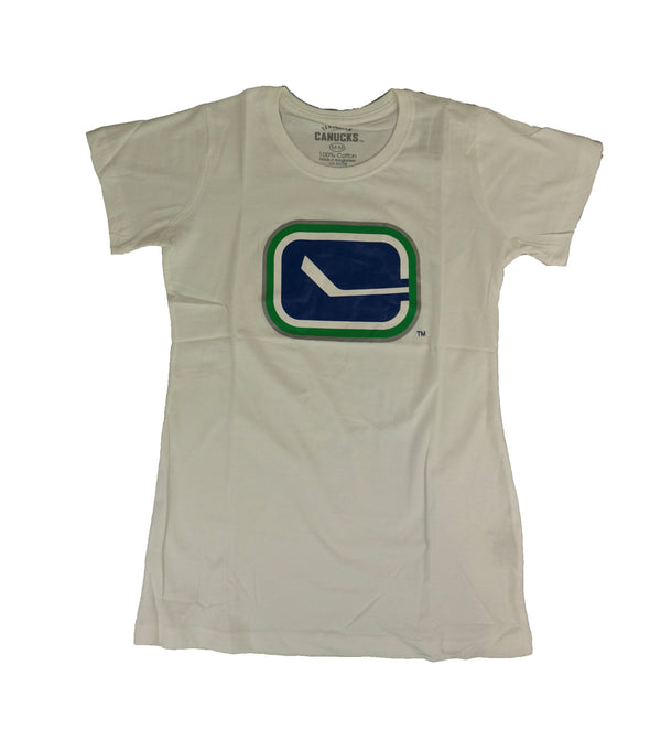 Vancouver Canucks Ladies Stick in Rink Tee - Vanbase