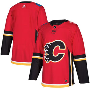 Adidas Pro Calgary Flames Home Jersey