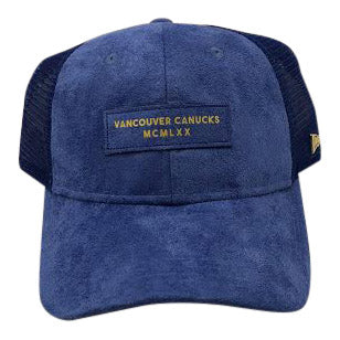 Vancouver Canucks Black Label Roman Trucker Adjustable - Vanbase