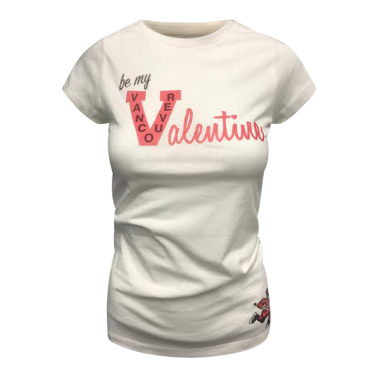 Vancouver Canucks Ladies Valentines Day Tee - Vanbase