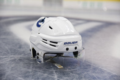 Canucks Team Issued Playoff Helmet