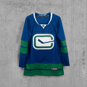 Vancouver Canucks Women's Name & Number 3rd Jersey