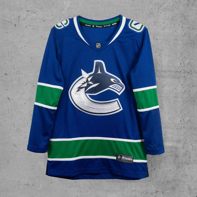Vancouver Canucks Women's Name & Number Home Jersey