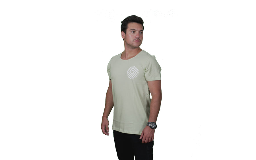 Polera Men´s Arrow Green Orígenes