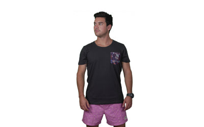 Polera Men´s Pocket Black Orígenes