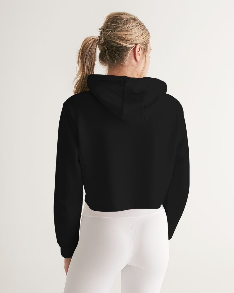W Icon Girls Cropped Hoodie