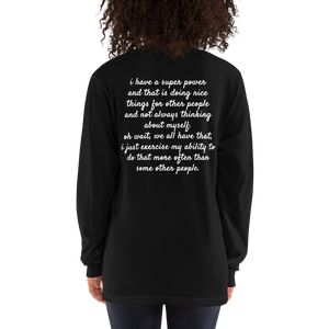 'Superpower' Long Sleeve T-shirt