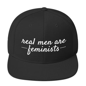'Real Men Are Feminists' Snapback