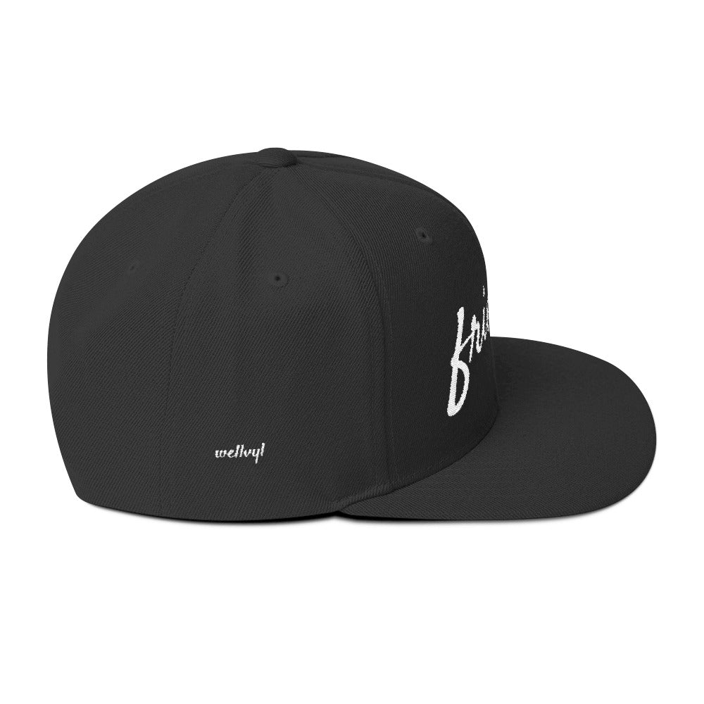 Friendly Wool Blend Snapback