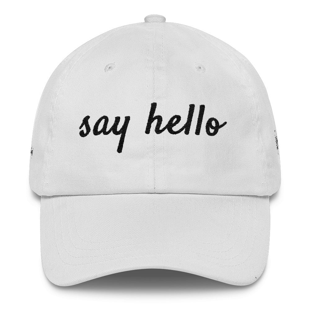 'Say Hello' Dad Cap