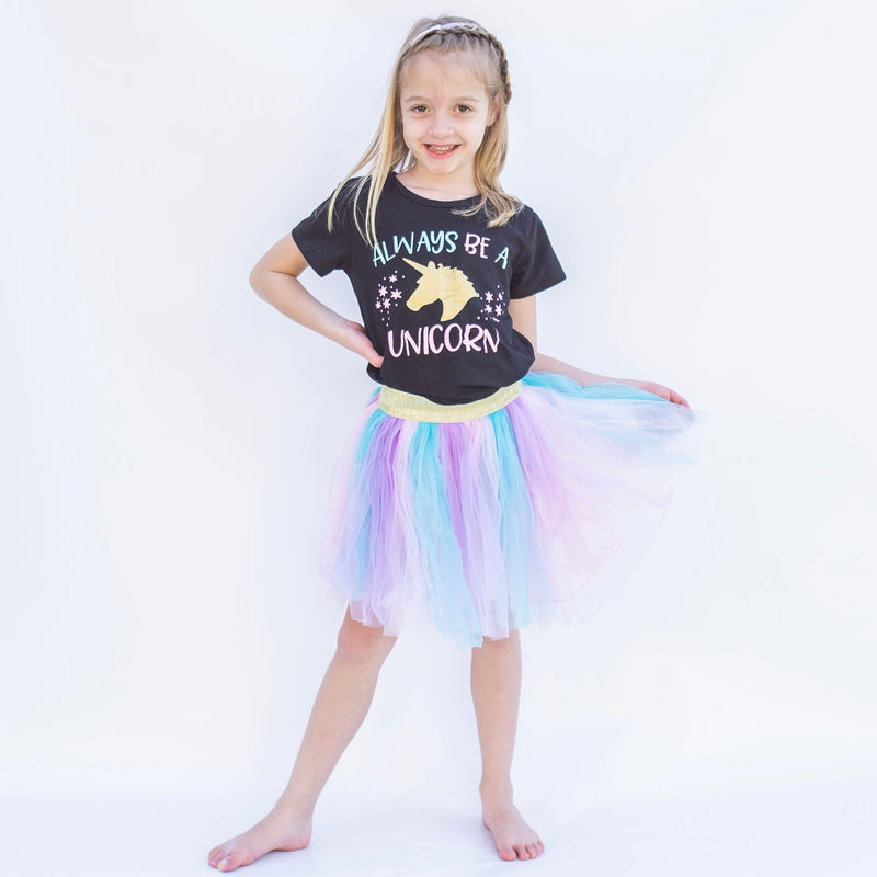 Always Be A Unicorn Tutu Set