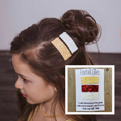 Belle Inspired 3 Piece Snap Clip Set