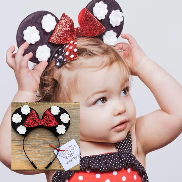 Minnie Mouse Inspired Ears
