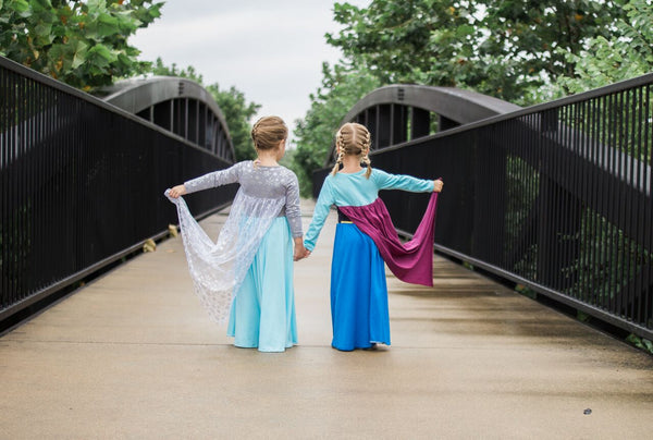 Elsa Inspired Cotton Maxi