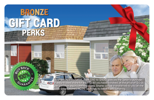 Bronze Perk Gift Card