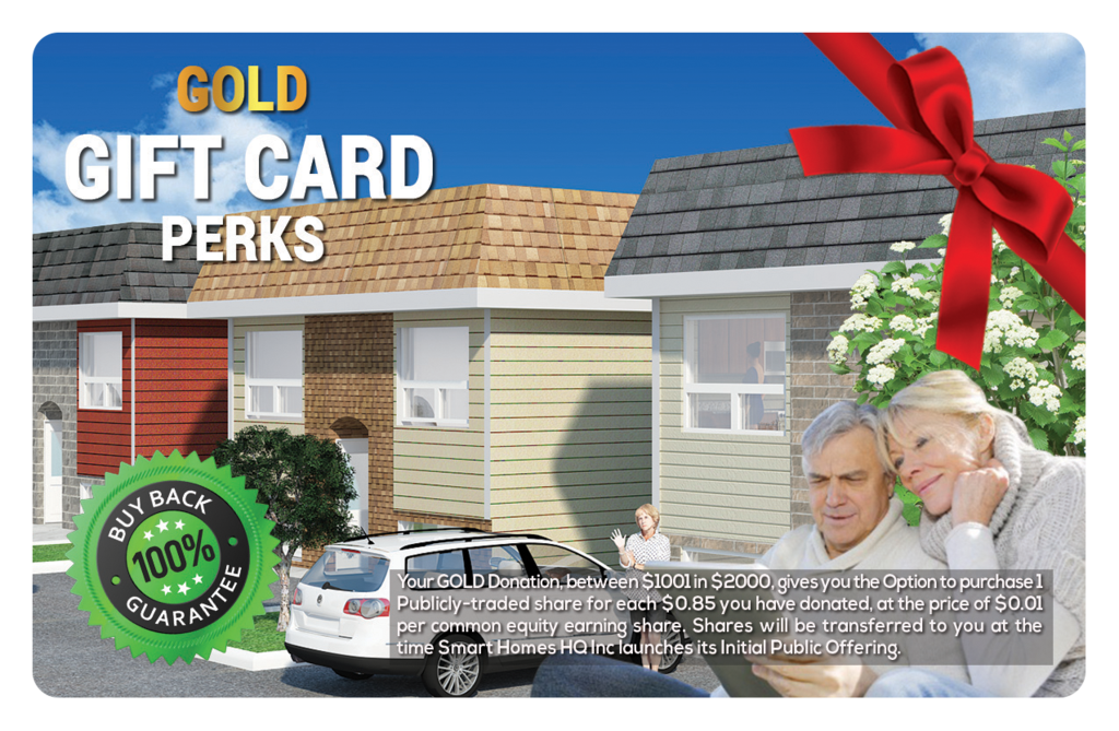 Gold Perk Gift Card