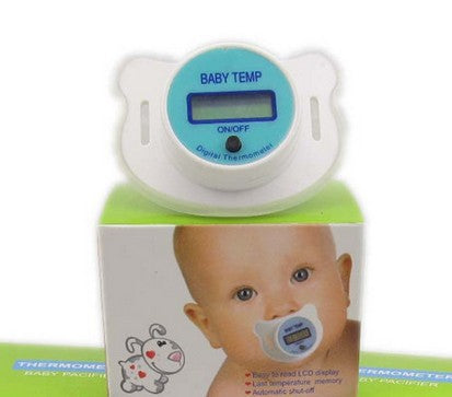 SMART BABY BINKY - the Pacifying Baby Thermometer!