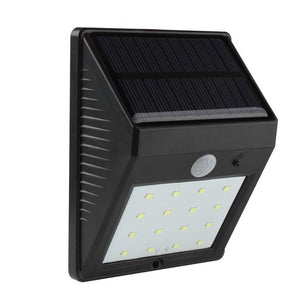 Solar Power 16 LED Motion Sensor Light Energy Saving Super Bright Outdoor Waterproof Wireless Garden Yard Security Wall Lamp