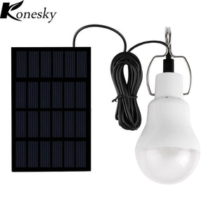 Konesky Lumiparty  Solar Powered Portable Led Bulb Lamp Solar Energy lamp led lighting solar panel light Energy Solar Camping