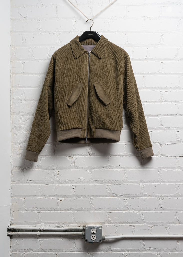 HARRINGTON JACKET IN JAPANESE KHAKI CORDUROY (PRE ORDER)