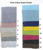 Fabric - Pima Cotton Graph Checks