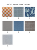 pocket square fabric options