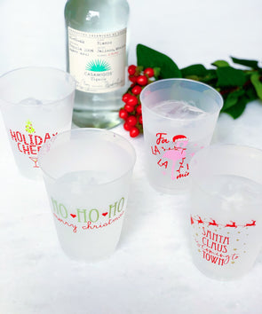 Holiday Shatterproof Cups