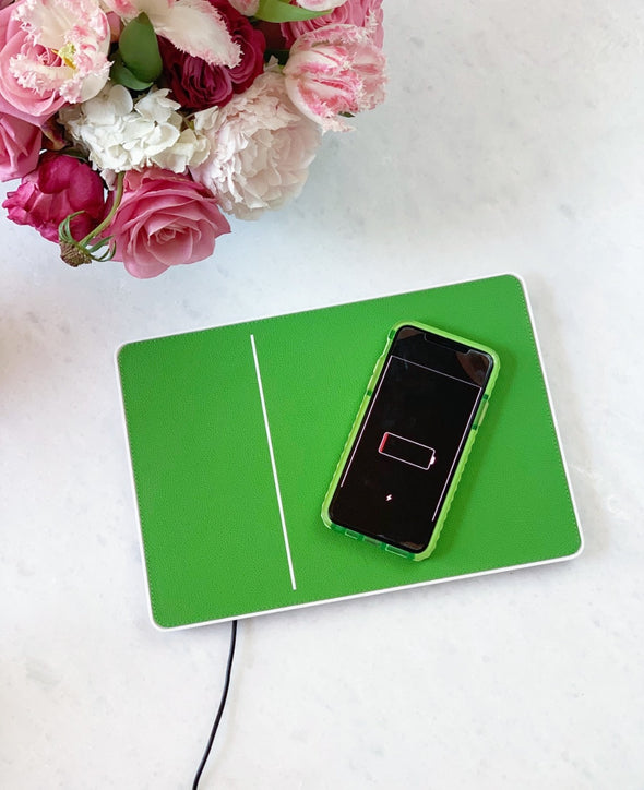 Leather Phone Charging Pad