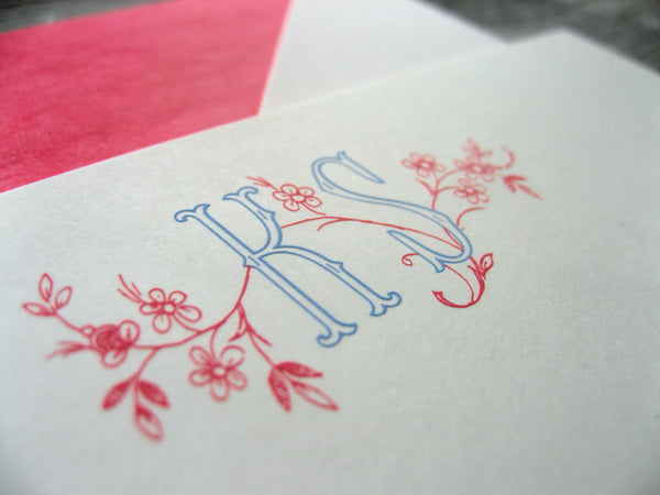 Design Your Own Engraved Stationery