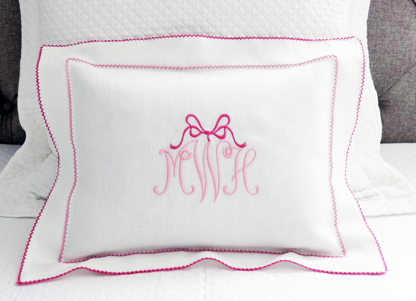 Baby Girl Boudoir Pillow