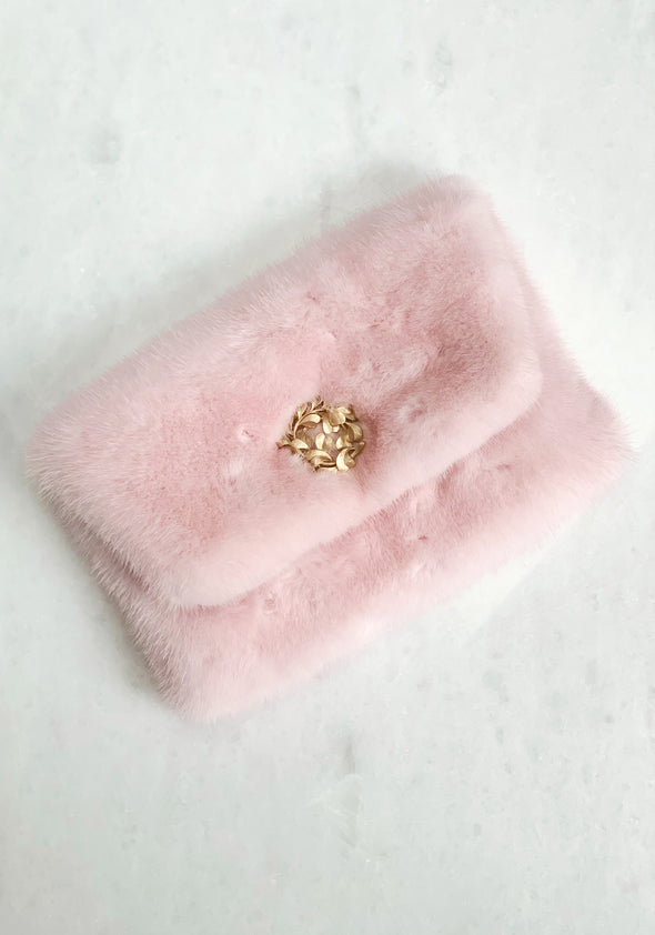 Small Mink Clutch