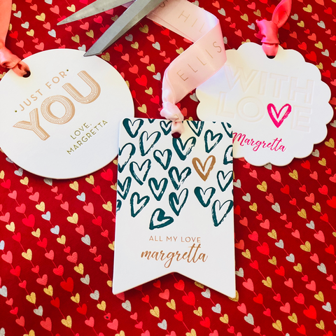 Ellis Hill luxury custom gift tags