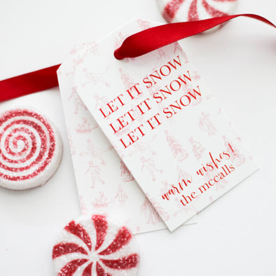 Watercolor Holiday Gift Tags