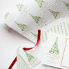 Watercolor Holiday Wrapping Paper