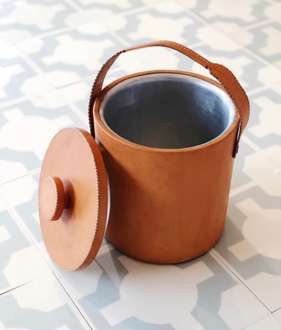 Leather Ice Bucket (small)