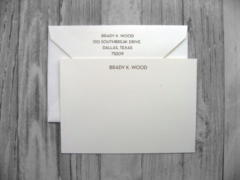 Thermography Stationery - Neutraface