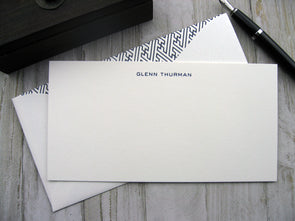 Engraved Stationery - Eurostile