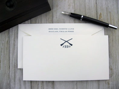 Thermography Stationery - Henley