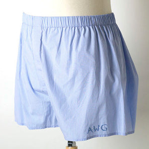 Men's boxer shorts, boxers, custom monogram