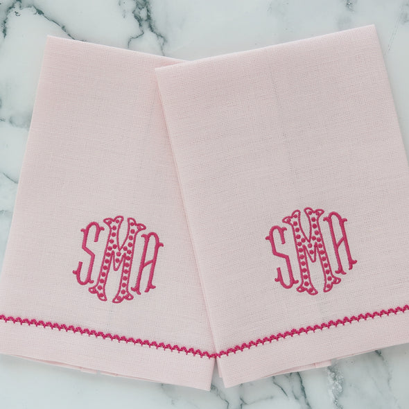 Picot Trim Guest Towels